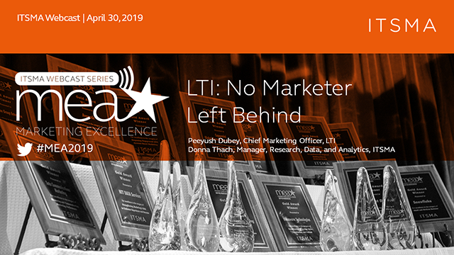LTI: No Marketer Left Behind