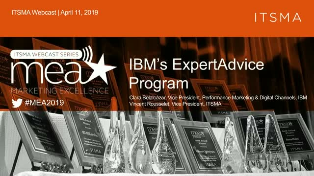 IBM's ExpertAdvice Program