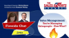 Sales Management: Fireside Chat - You Are Managing Salespeople - Now What?