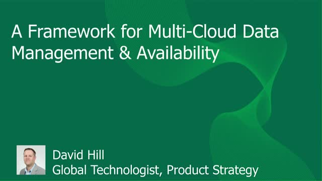 Data Protection Considerations for Multi-Cloud Environments
