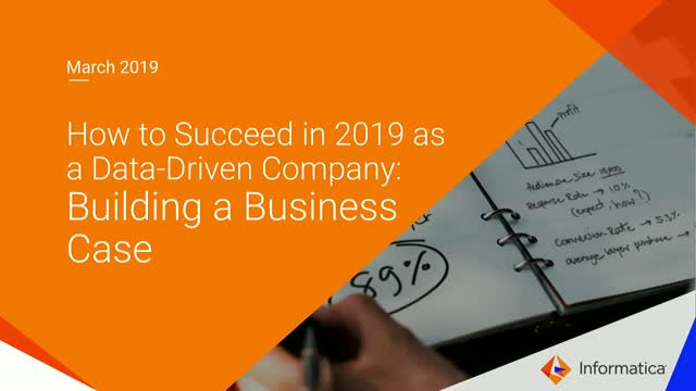 How to Succeed in 2019:  Building a Business Case for MDM