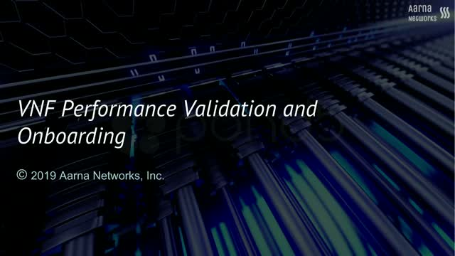 VNF Performance Validation and Onboarding Using Yardstick NSB and ONAP
