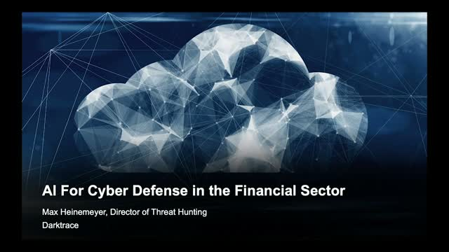 AI For Cyber Defense in the Financial Sector