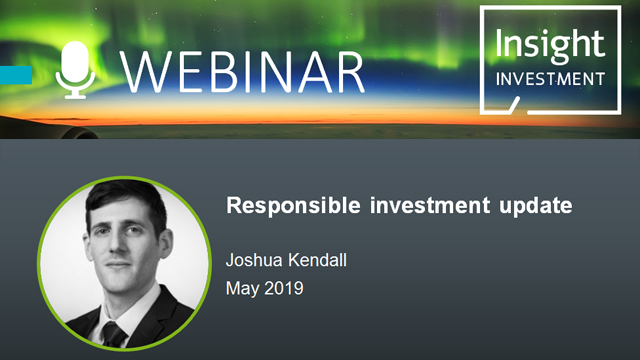 Responsible investment annual report and update