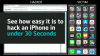 See How Easy It Is to Hack an iPhone in under 30 Seconds (Video Demo)