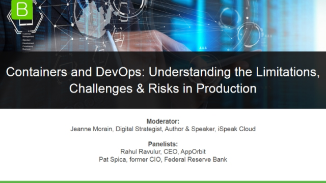 Containers & DevOps: Understanding Limitations, Challenges & Risks in Production