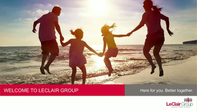 Customizing marketing materials with LeClair Group's Online Shop