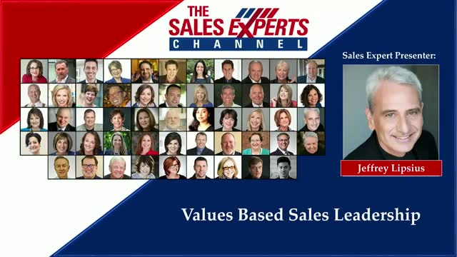Values Based Sales Leadership