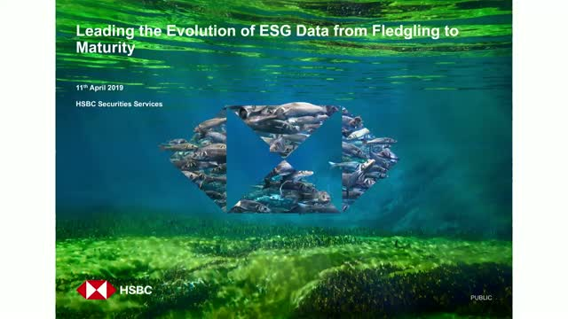 Leading the Evolution of ESG Data from Fledgling to Maturity Webinar