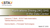 Applications Driving 24G SAS in the Data Center