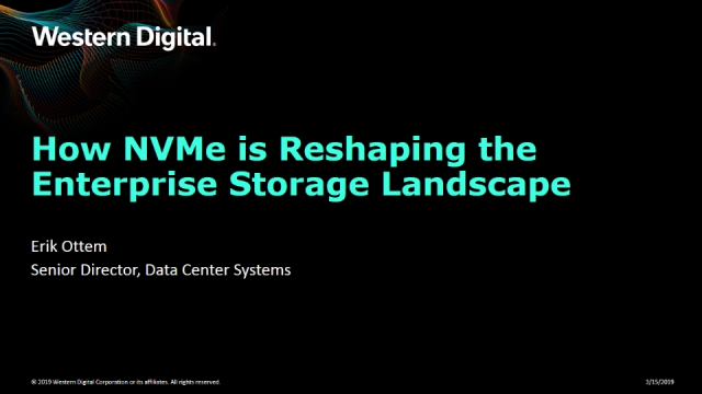 How NVMe is Reshaping the Enterprise Storage Landscape