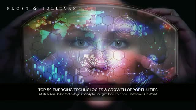 Top 50 Emerging Technologies and Growth Opportunities