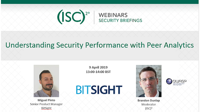 Understanding Security Performance with Peer Analytics