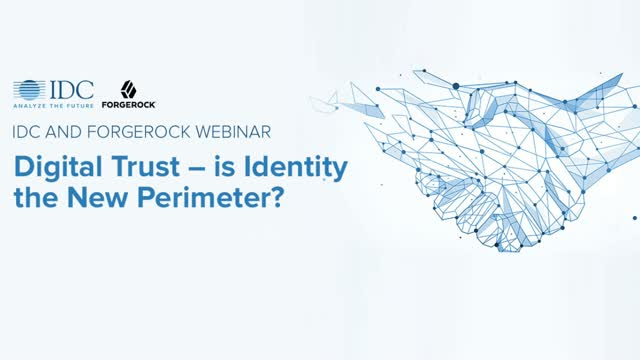 Digital Trust – is Identity the New Perimeter?