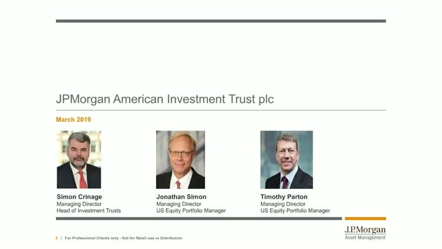 Important changes: JPMorgan American Investment Trust plc