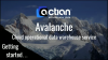Actian Avalanche - Getting Started