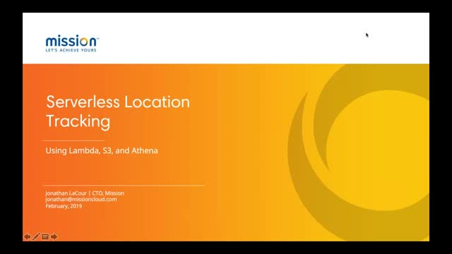AWS Serverless Location Tracking with Lambda, S3, and Athena
