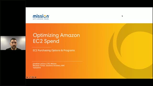 Optimizing Amazon EC2 Spend