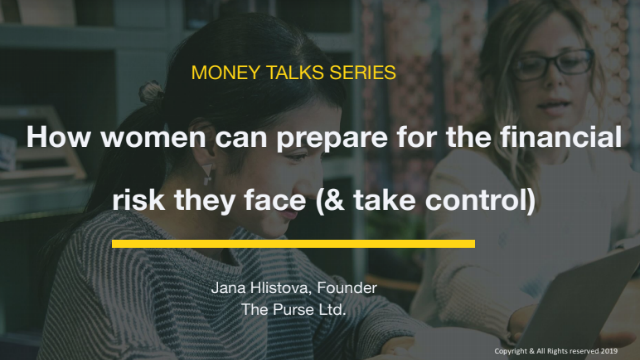 How women can prepare for financial risk (and take control)