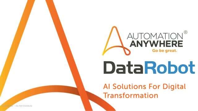 RPA & AI Solutions for Process Automation & Intelligent Decision Making