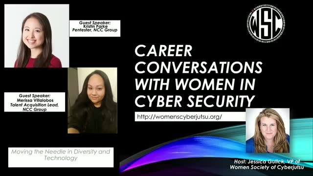 Career Conversations w/ Merissa Villalobos & Kristin Parke from NCC Group