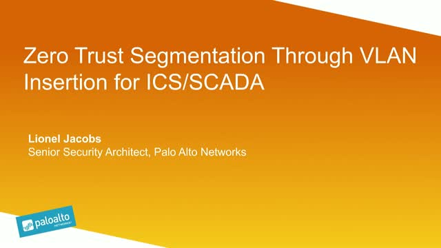 Zero Trust Segmentation through VLAN Insertion for ICS/SCADA