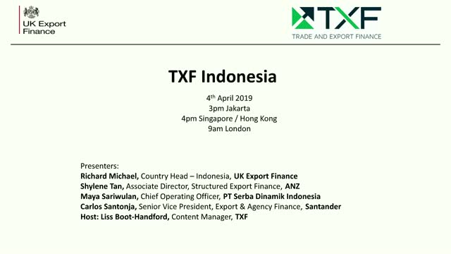 TXF Indonesia: Competitive finance for Indonesian buyers
