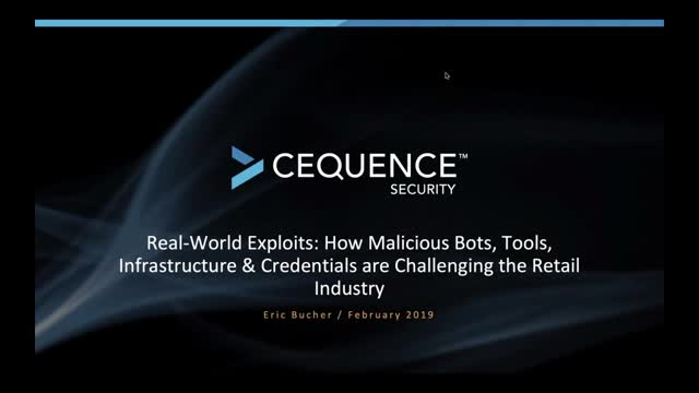 Retail and Hospitality ISAC Webinar: Real World Security Exploits
