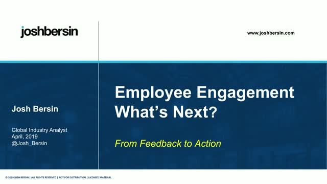 From Feedback to Action: The Next Step in Employee Engagement