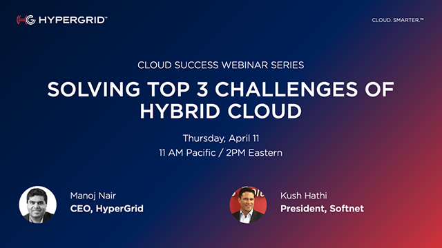 Solving the Top 3 Challenges of Hybrid Cloud
