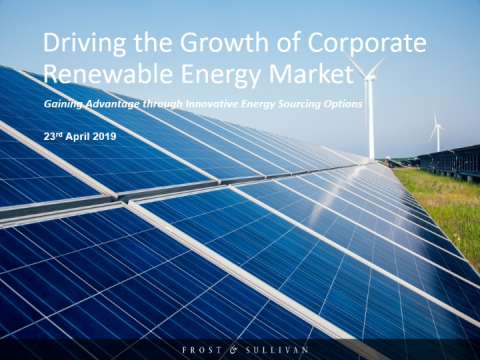 Driving the Growth of Corporate Renewable Energy Market