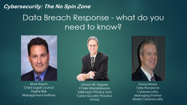 Data Breach Response - what do you need to know?