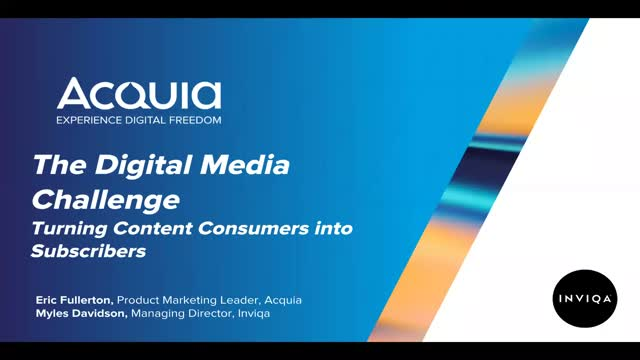 The Digital Media Challenge: Turn Content Consumers into Subscribers