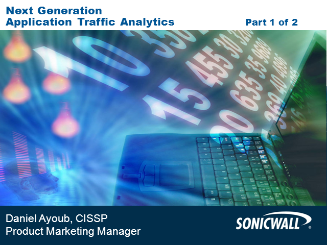 Next Generation Application Traffic Analytics