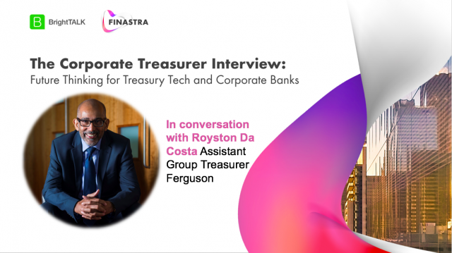 The Corporate Treasurer Interview: Future Thinking for Corporate Banks