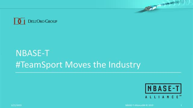 NBASE-T #TeamSport Moves the Industry