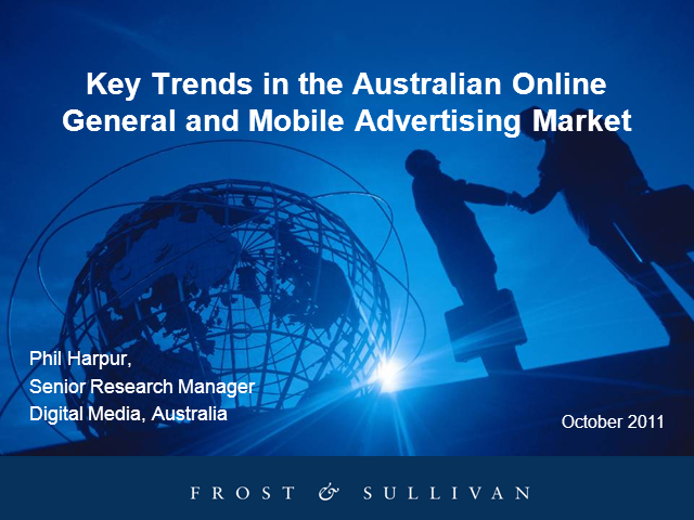 The Australian Online General and Mobile Advertising Market 2011