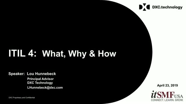 ITIL 4: What, How, and Why