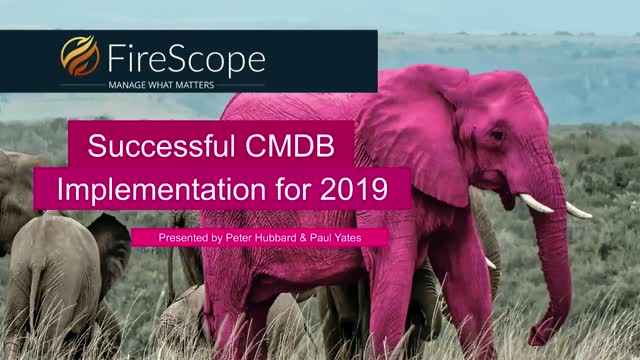Successful CMDB Implementation for 2019