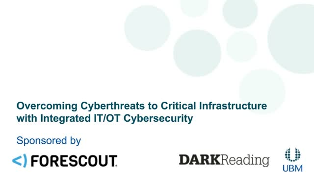 Overcoming Cyberthreats to Critical Infrastructure with IT/OT Cybersecurity