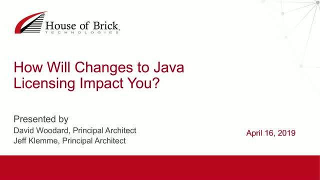 How Will Changes to Java Licensing Impact You?