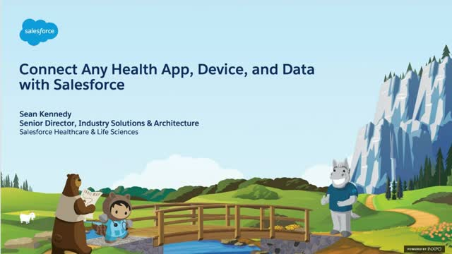 Connect any health app, device and data with Salesforce and MuleSoft to reach in