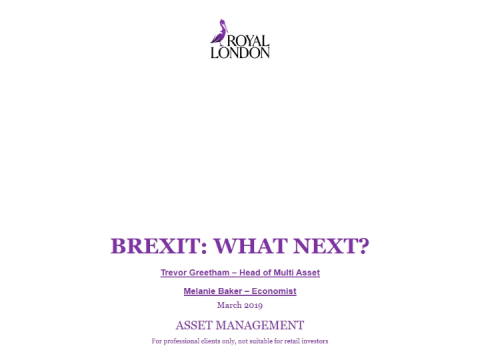 Brexit, at the crossroads…