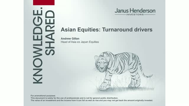 Asian Equities: Turnaround drivers