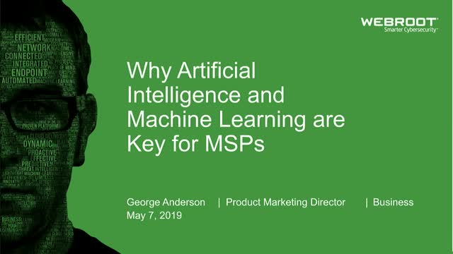 Why Artificial Intelligence and Machine Learning are Key for MSPs (EMEA)