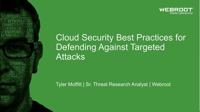 Cloud Security Best Practices for Defending Against Targeted Attacks (EMEA)