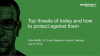 Top threats today and how to protect against them