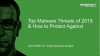 The Top Cyber Threats Today and How to Protect against Them (EMEA)