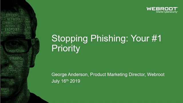 Making Stopping Phishing Your #1 Priority
