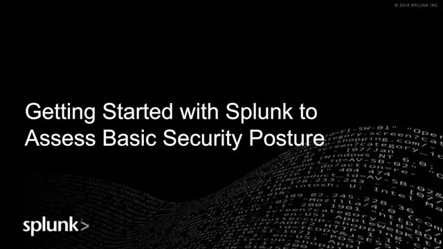 Getting Started with Security Operations: How to Access Basic Security Posture